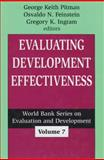 Evaluating Development Effectiveness 9780765802545