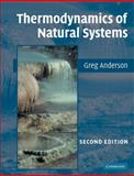 Thermodynamics of Natural Systems 9780521612555