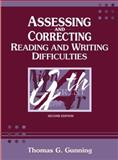 Assessing and Correcting Reading and Writing Difficulties 9780205332557