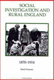 Social Investigation and Rural England, 1870-1914 9780861932573