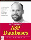 ASP Databases 9781861002723