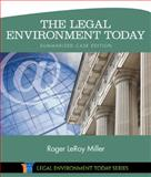 The Legal Environment Today - Summarized Case Edition 8th Edition