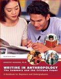 Writing in Anthropology 9781256292791