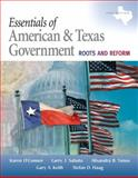 Essentials of American and Texas Government 9780205662845