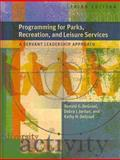 Programming for Parks, Rec and Leisure Services (W/Cd) 9781892132871