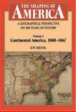A Geographical Perspective on 500 Years of History - Continental America, 1800-1867