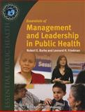 Essentials of Management and Leadership in Public Health 1st Edition