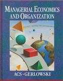Managerial Economics and Organization 9780023002922