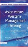 Asian Versus Western Management Thinking 9780230272934