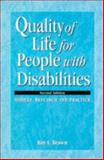 Quality of Life for People with Diabilities 9780748732944