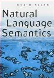 Natural Language Semantics 9780631192961