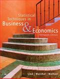 Statistical Techniques in Business and Economics 9780073272962