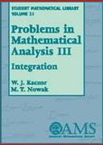 Problems in Mathematical Analysis III 9780821832981