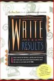 Write for Results 9781890003005