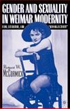 Gender and Sexuality in Weimar Modernity 9780312293024