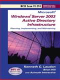 Windows Server 2003 Planning and Maintaining Network Infrastructure (Exam 70-294) 9780131893122