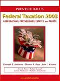 Federation Taxation, Corporations, Partnerships, Estates and Trusts, Tax Analyst and Tax Research Program, 2003 9780131763135