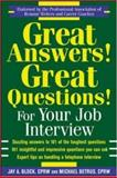 Great Answers! Great Questions! for Your Job Interview 9780071433174