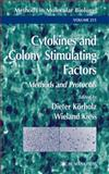 Cytokines and Colony Stimulating Factors 9781617373183