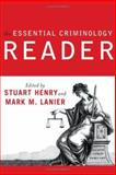 Essential Criminology Reader 9780813343198