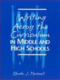 Writing Across the Curriculum in Middle and High Schools 9780205153251