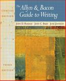 The Allyn and Bacon Guide to Writing 9780321093264