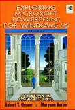 Exploring Microsoft PowerPoint for Windows 95 Version 7.0 9780135033289