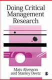 Doing Critical Management Research 9780761953326