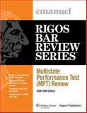 Multistate Perfomance Test (Mpt) Review 2008-2009 9780735573369