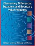 Elementary Differential Equations and Boundary Value Problems 88th Edition