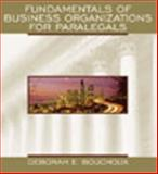 Fundamentals of Business Organizations for Paralegals 9780735543409