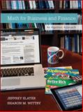 Math for Business and Finance with Connect Plus 1st Edition
