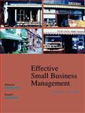 Effective Small Business Management 9780470003435