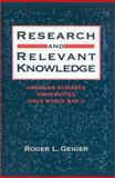 Research and Relevant Knowledge 9780195053463