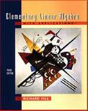 Elementary Linear Algebra with Applications 3rd Edition