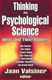 Thinking in Psychological Science 9780765803481
