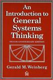 An Introduction to General Systems Thinking 9780932633491