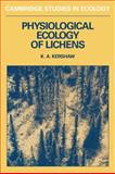 Physiological Ecology of Lichens 9780521283496