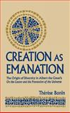 Creation as Emanation 9780268023515