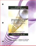 Student Solutions Manual for Physics for Scientists and Engineers 9780321513564