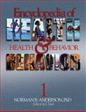Encyclopedia of Health and Behavior 9780761923602