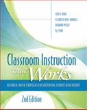 Classroom Instruction That Works 2nd Edition