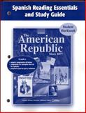 The American Republic since 1877, Spanish Reading Essentials and Study Guide 9780078743641