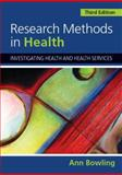 Research Methods in Health 9780335233649