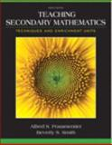 Teaching Secondary Mathematics 9th Edition