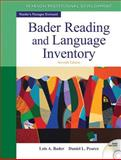 Bader Reading and Language Inventory 7th Edition