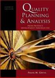 Quality Planning and Analysis 9780070393684