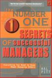 The Number One Secrets of Successful Managers 9780971443747