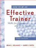 How to Be an Effective Trainer 9780471183754