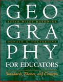 Geography for Educators 9780134423777